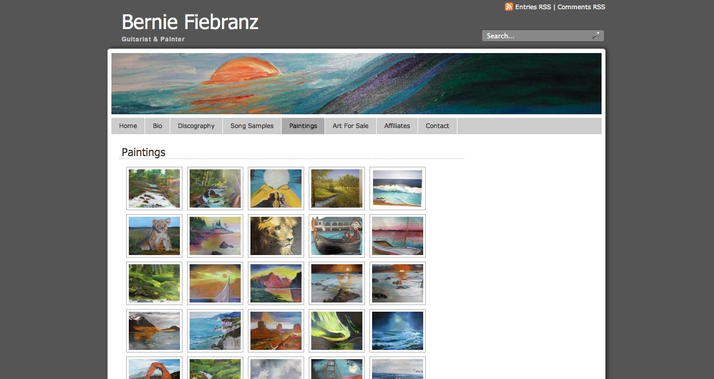Bernie Fiebranz Website