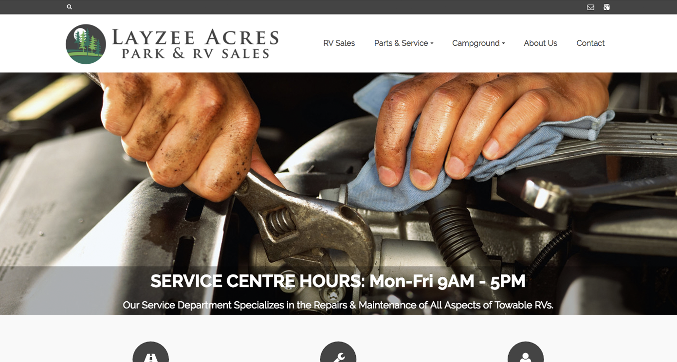 Layzee Acres Website